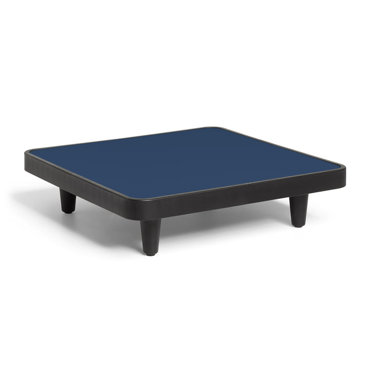 Fatboy - Paletti Outdoor -table H 22,5 cm, 90 x 90 cm, dark ocean