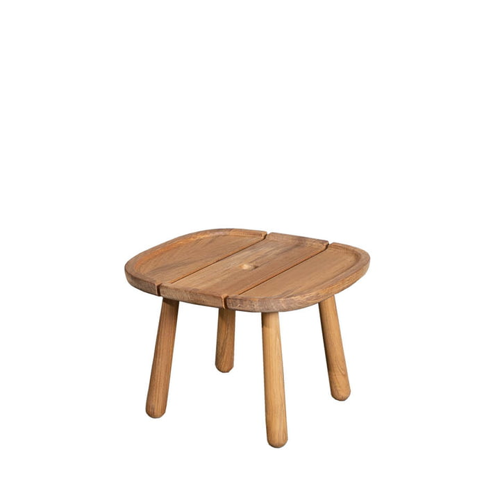 The Royal side table Outdoor from Cane-line , 44 x 44 cm, teak nature