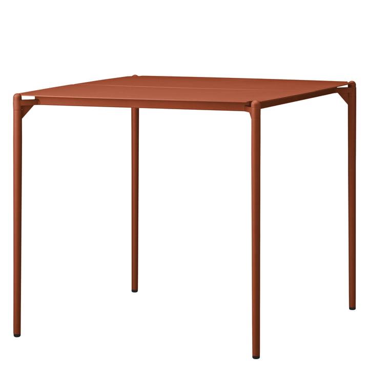 The Novo table from AYTM , 80 x 80 cm, ginger bread