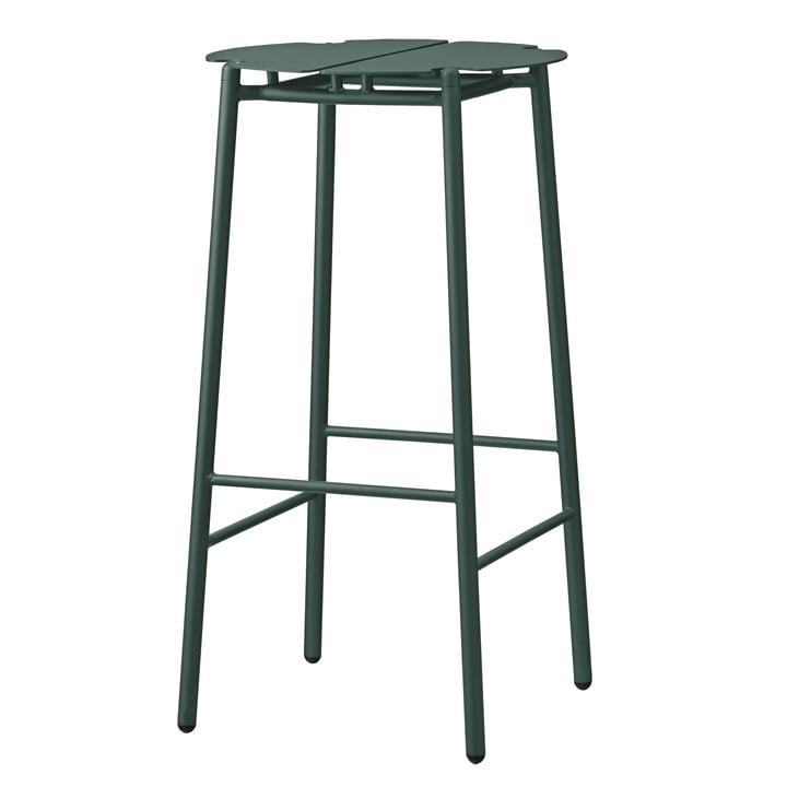 The Novo bar stool from AYTM , H 75 cm, forest