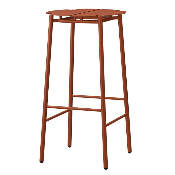 The Novo bar stool from AYTM , H 75 cm, ginger bread