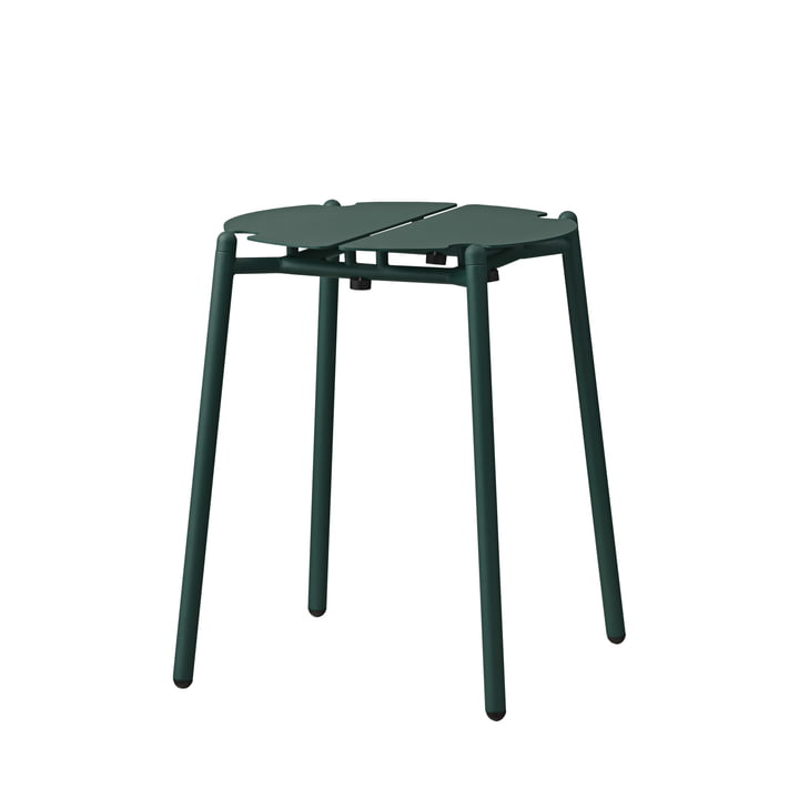 The Novo stool from AYTM , H 45 cm, forest