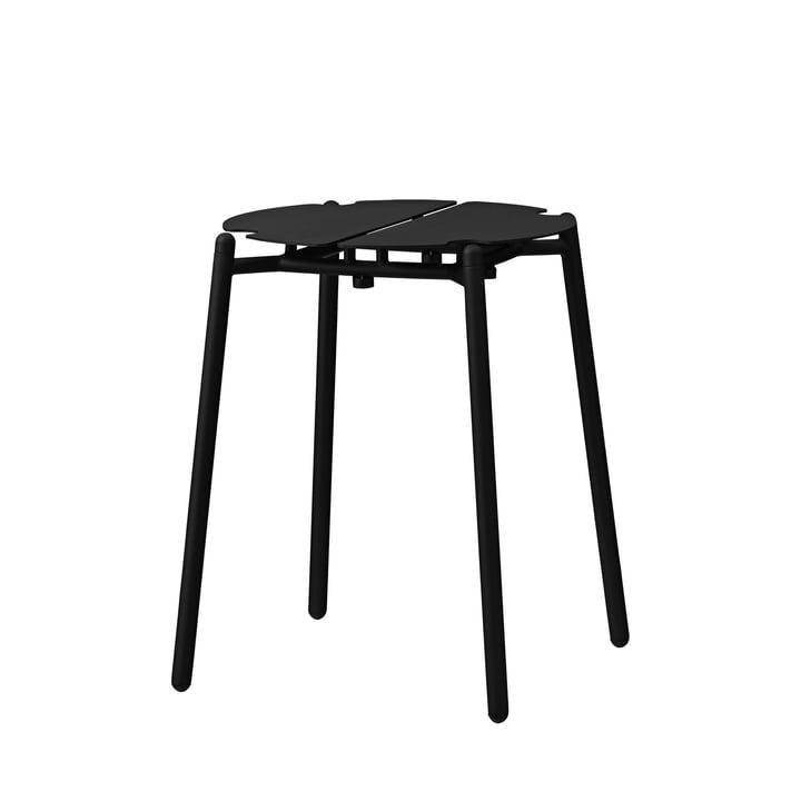 The Novo stool from AYTM , H 45 cm, black