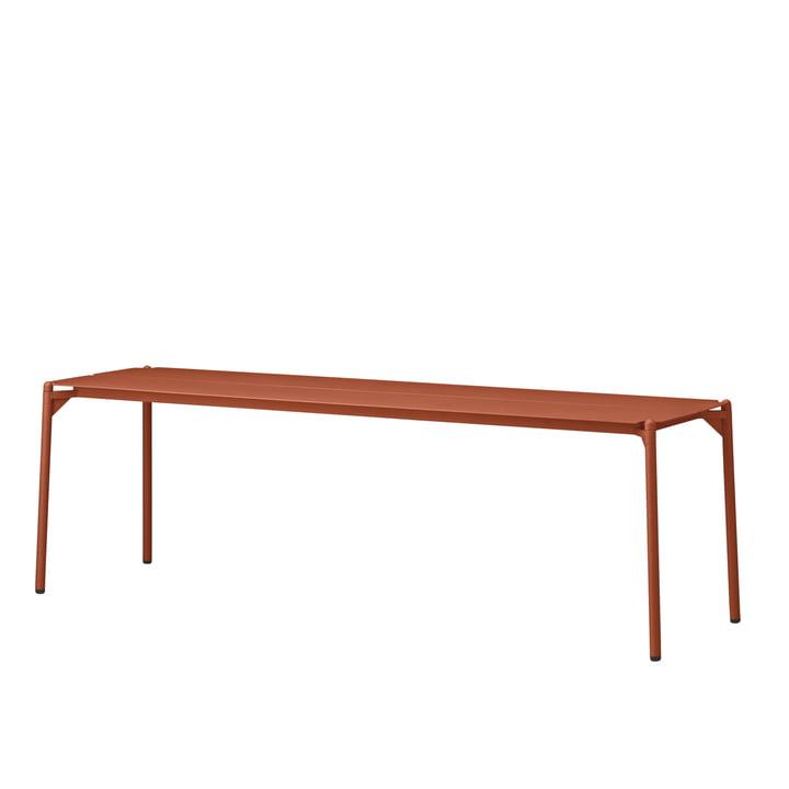 The Novo bench from AYTM , L 145 cm, ginger bread