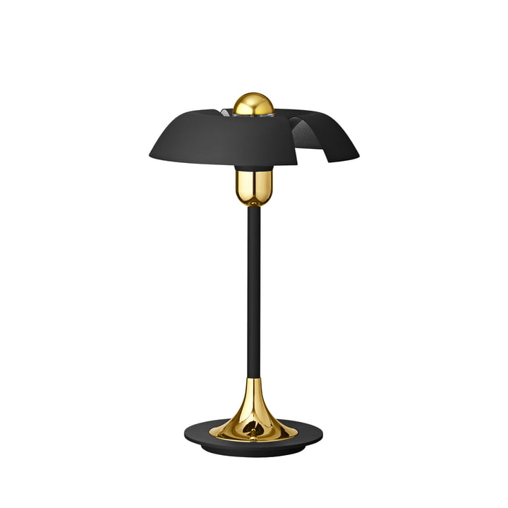The Cycnus table lamp by AYTM , Ø 30 x H 46,5 cm, black / gold