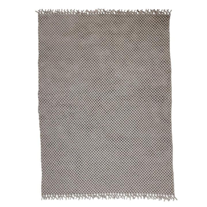 The Clover carpet from Cane-line , 240 x 170 cm, sand