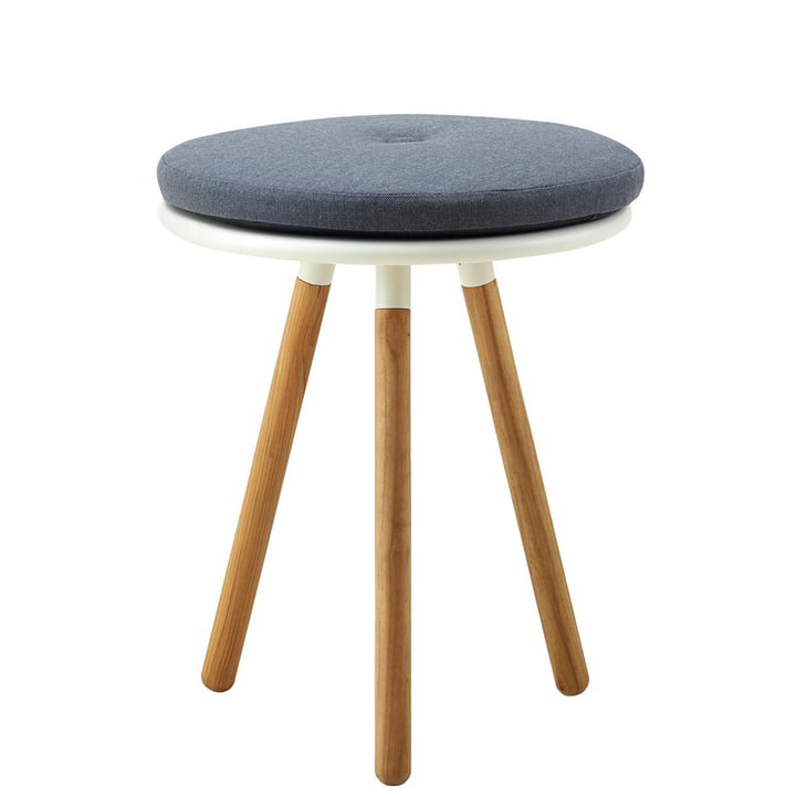 The cushion for Area stool from Cane-line , Natté grey