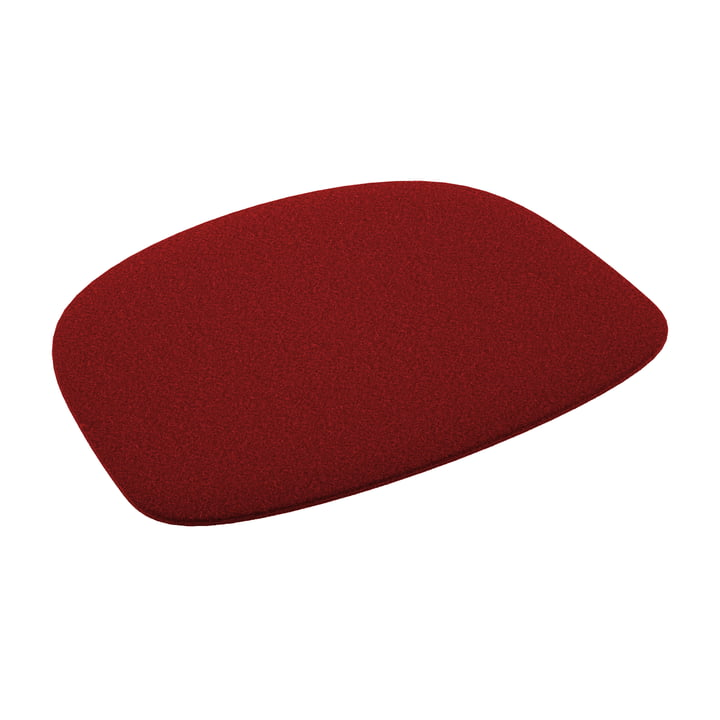 Fast - Felt seat cushion for chair Forest, red