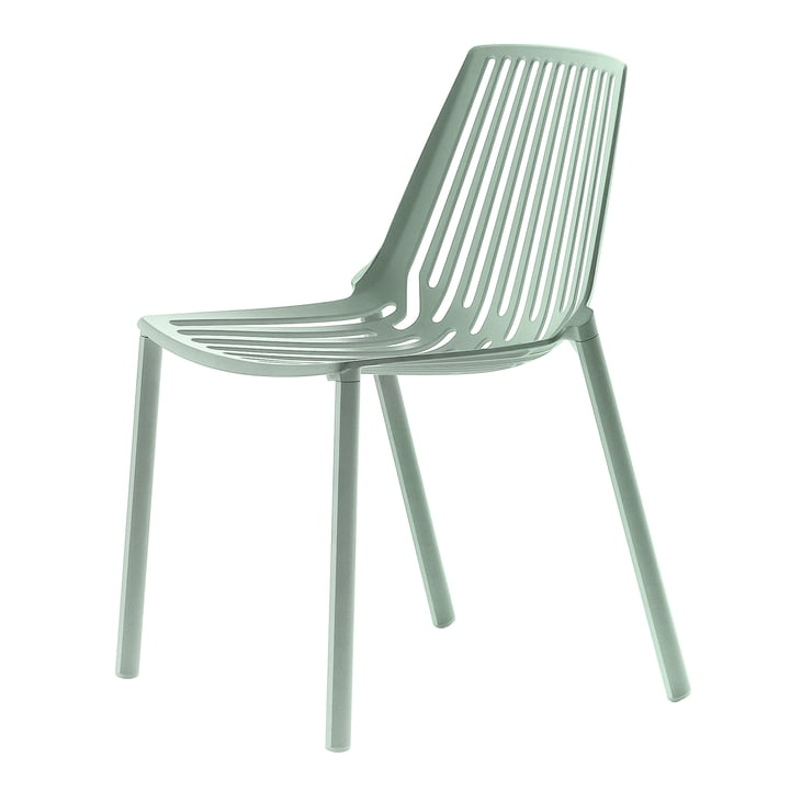 Fast - Rion Stacking chair, Green Tea
