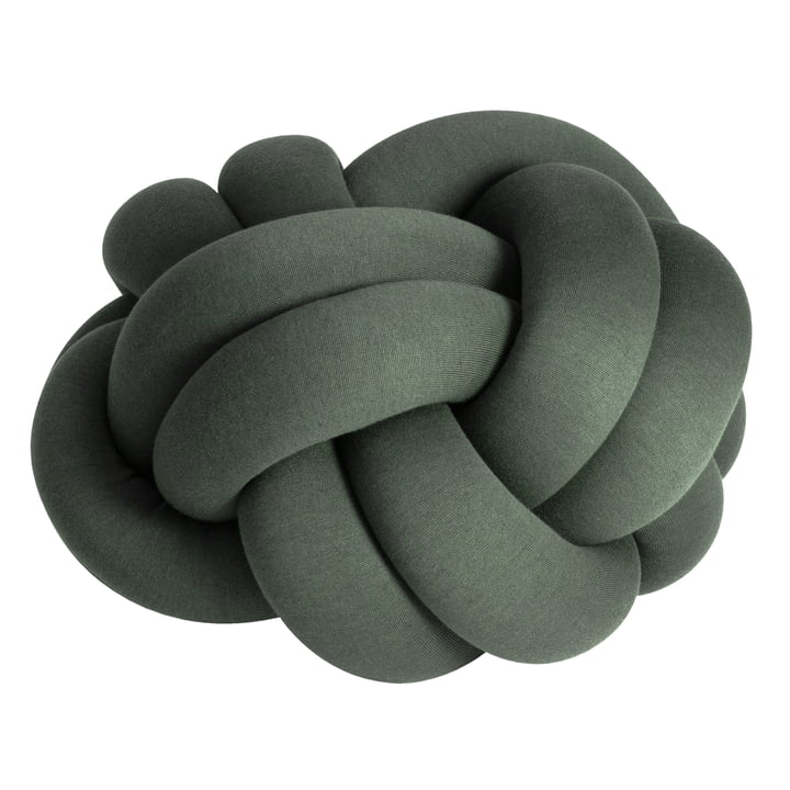 Knot Cushion XL from Design House Stockholm in green