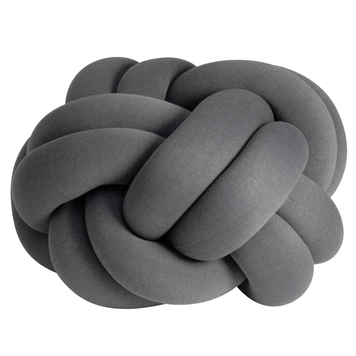 Knot Cushion XL from Design House Stockholm in grey
