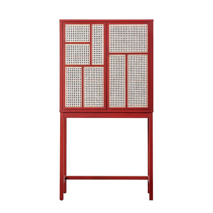 Air Cupboard from Design House Stockholm in red