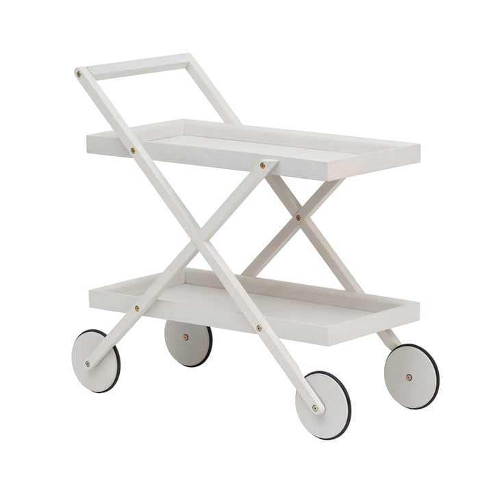 Exit Serving trolley from Design House Stockholm in white / grey