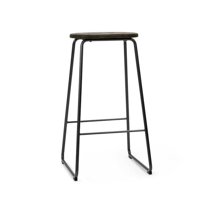 Earth Bar stool, H 69 cm, Plastic Waste Edition by Mater