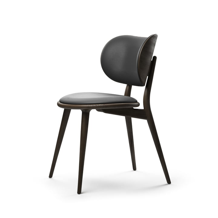 The Dining Chair, Beech black / black from Mater