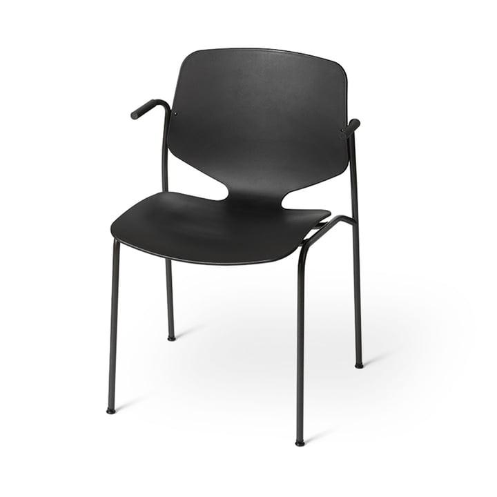 Nova Sea Armchair, black from Mater