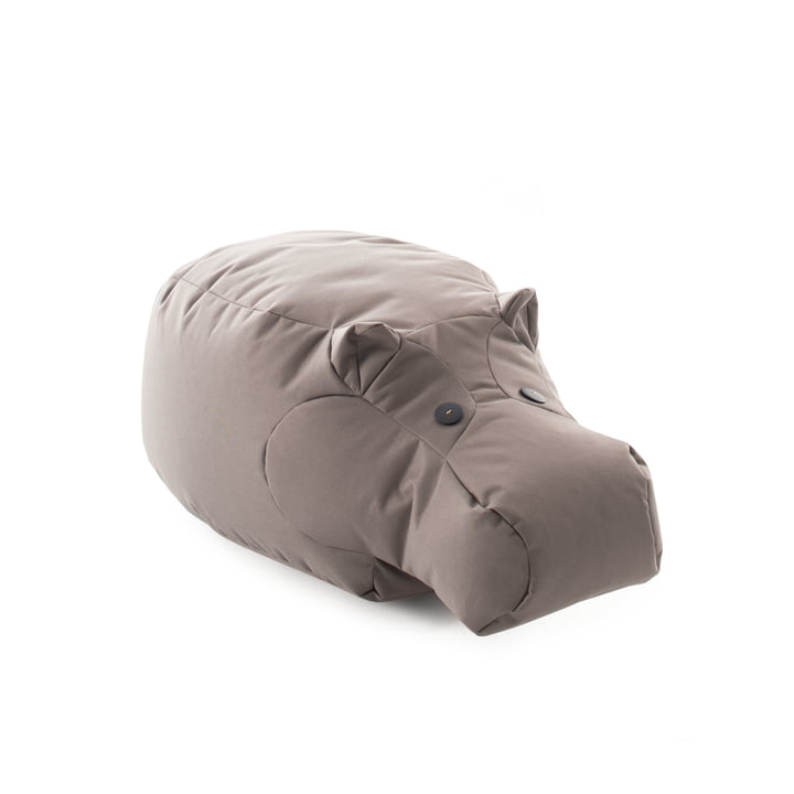 The Happy Zoo play animal Hippo from Sitting Bull , grey-brown
