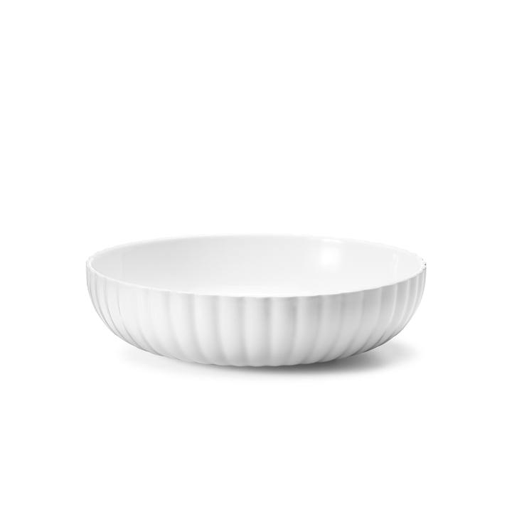 Bernadotte Bowl 70 cl from Georg Jensen in white