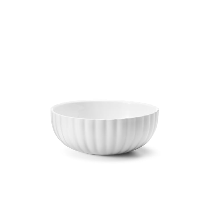 Bernadotte Bowl 60 cl from Georg Jensen in white