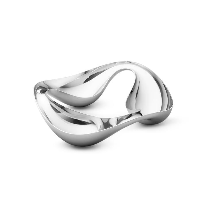 Georg Jensen - Cobra Triple Snack Bowl, stainless steel