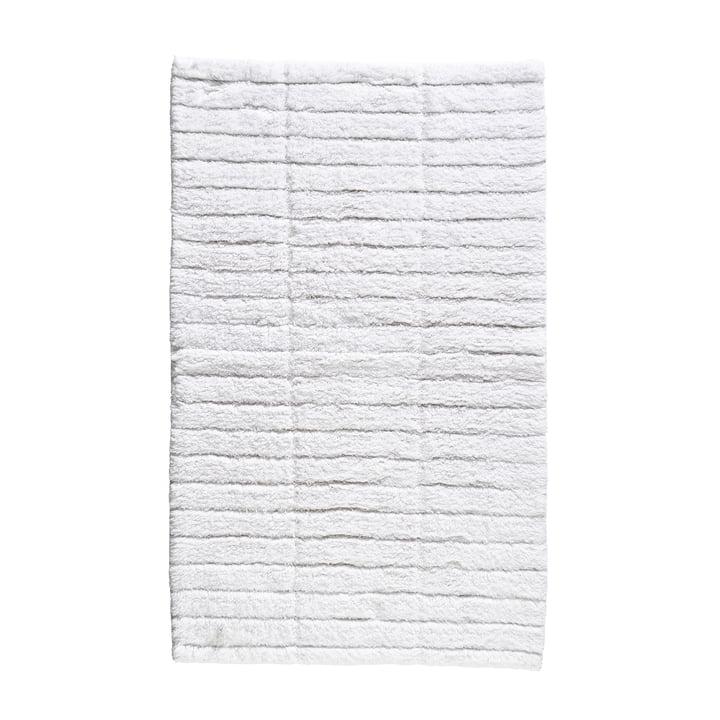The Soft Tiles bathroom mat from Zone Denmark , 50 x 80 cm, white