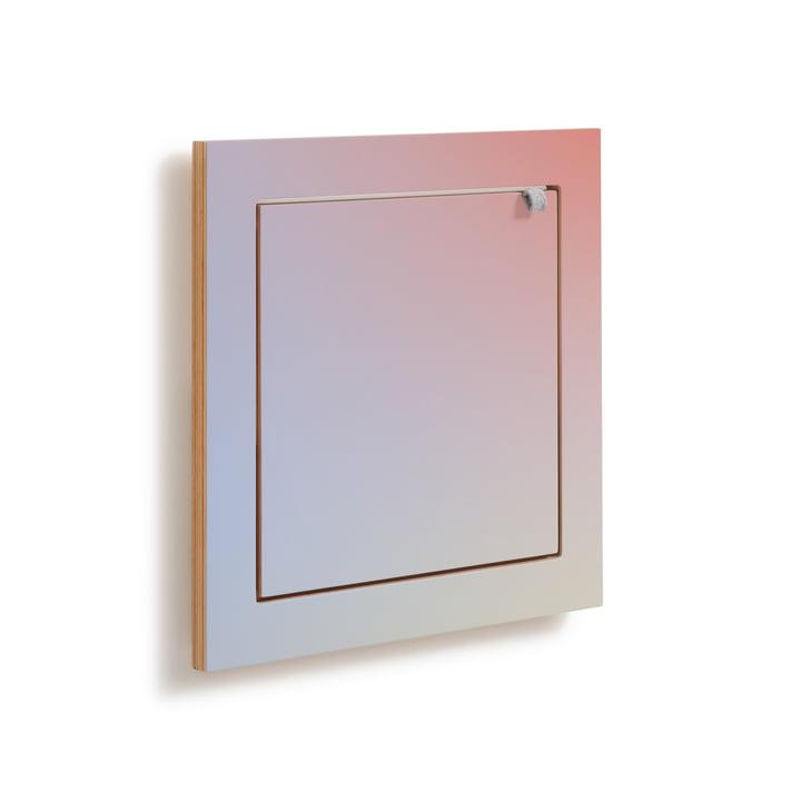 Fläpps Shelf, 40 x 40 cm, 1 shelf from Ambivalenz in Sunrise by Joa Herrenknecht