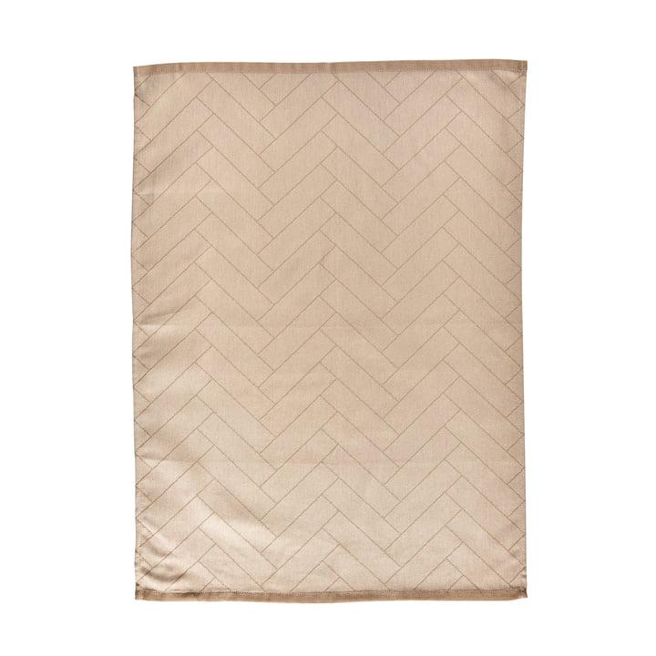 The Tiles tea towel from Södahl , 50 x 70 cm, beige