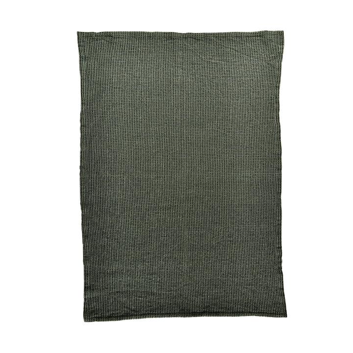 The Waffle tea towel from Södahl , 50 x 70 cm, dusty pine