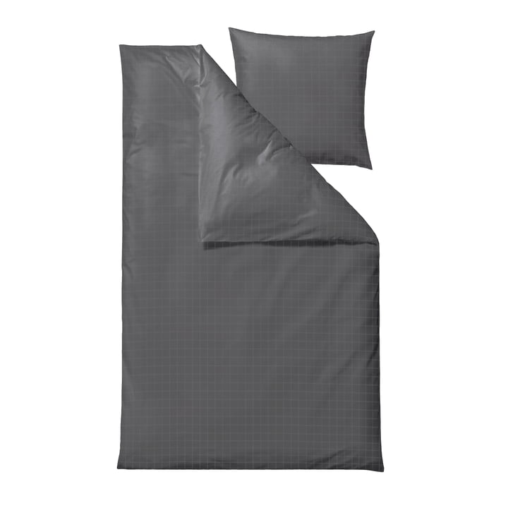 The Clear Damask bed linen from Södahl , 135 x 200 cm, grey