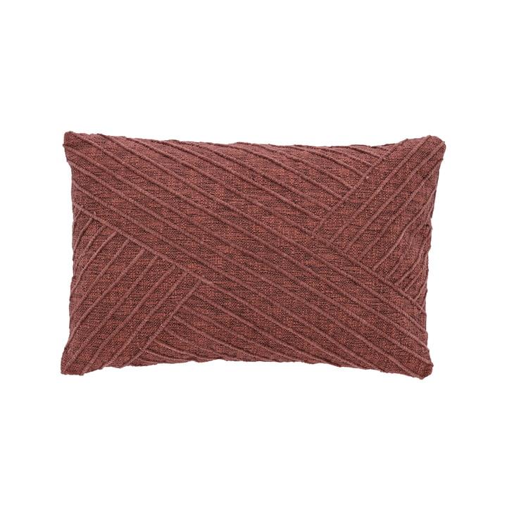 The Diagonal cushion from Södahl , 40 x 60 cm, rosewood