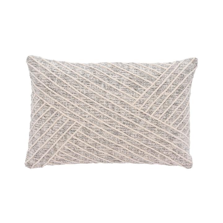 The Diagonal cushion from Södahl , 40 x 60 cm, offwhite