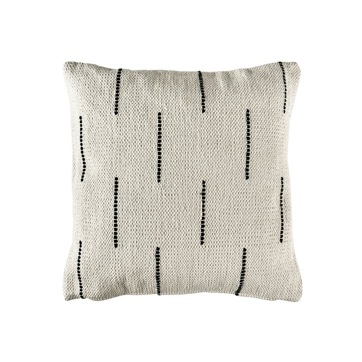 The Graphic cushion from Södahl , 45 x 45 cm, beige