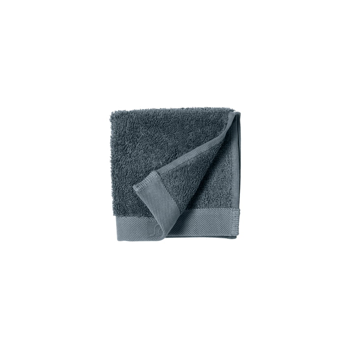 The Comfort Face cloth from Södahl , 30 x 30 cm, china blue