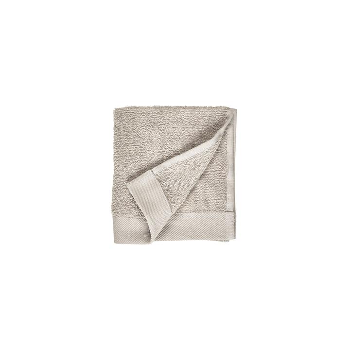 The Comfort Face cloth from Södahl , 30 x 30 cm, light grey