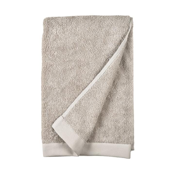 The Comfort Bath towel from Södahl , 70 x 140 cm, light grey