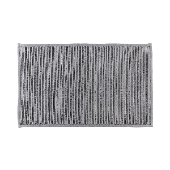 The Plissé bathroom mat from Södahl , 50 x 80 cm, grey