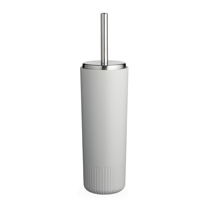 The Plissé toilet brush from Södahl , light grey