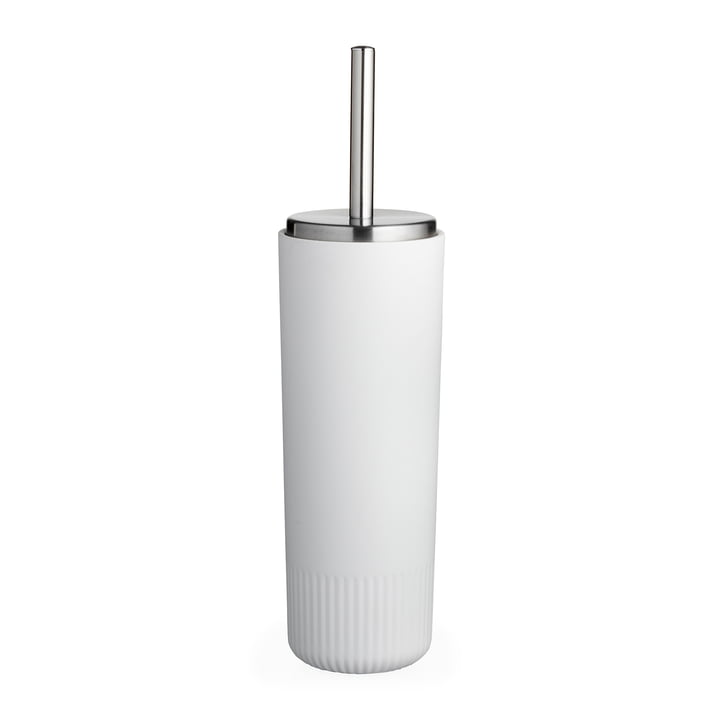 The Plissé toilet brush from Södahl , white
