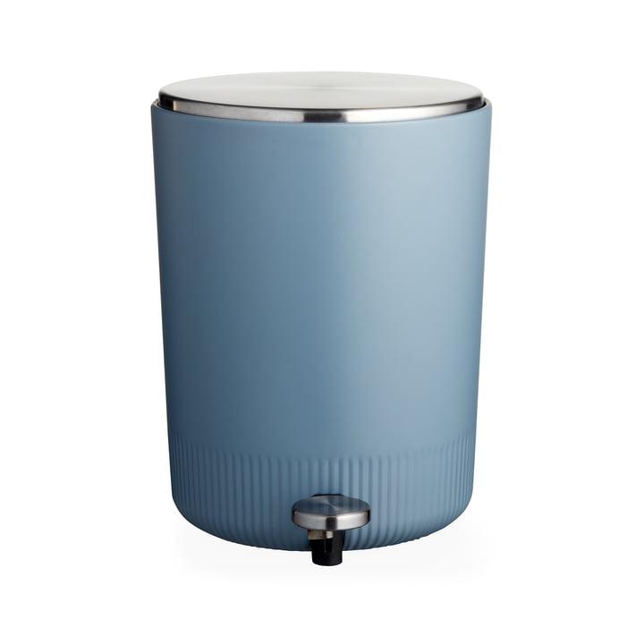 The Plissé pedal bin from Södahl , 5 L, china blue