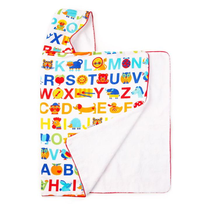 The hooded towel from byGraziela , Rainbow ABC