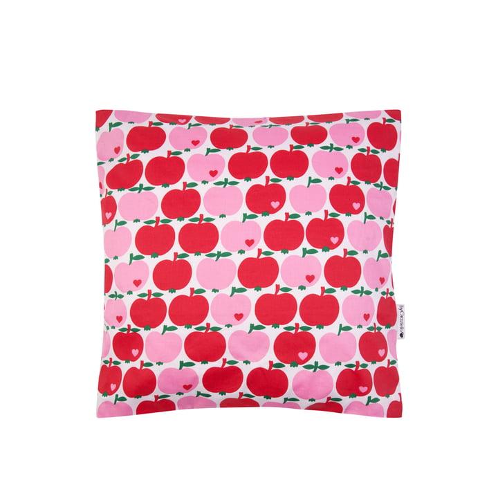 The pillowcase apple from byGraziela , 40 x 40 cm, red