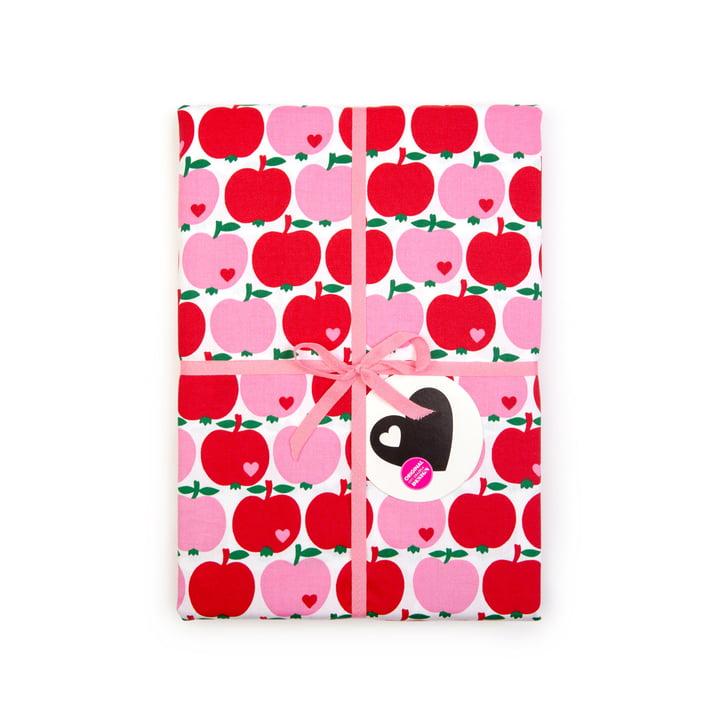byGraziela - Children's bedding apple, red / pink