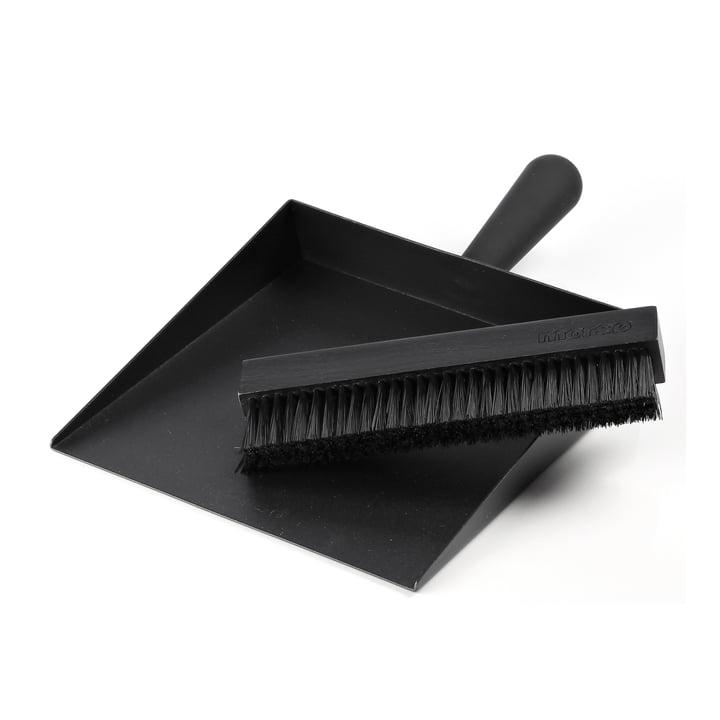 Dustpan & Broom from Morsø in black