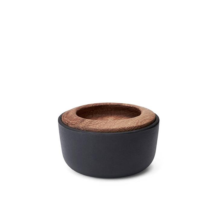Kit Salt barrel with lid Ø 10 cm from Morsø in black