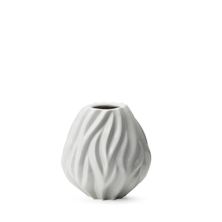 Flame Vase from Morsø H 15 cm in white