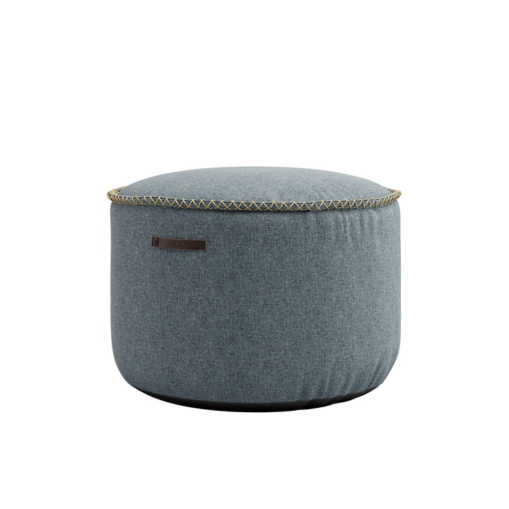The RETRO it Medley Drum Pouf from SACK it, dusty blue