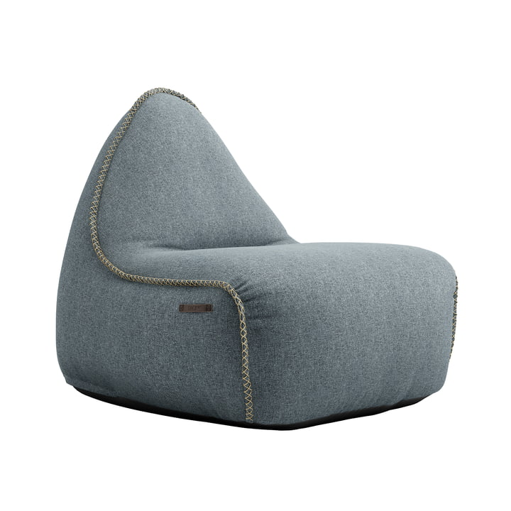 The RETRO it Medley beanbag from SACK it, dusty blue
