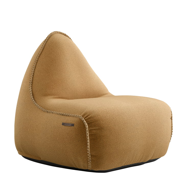 The RETRO it Cura beanbag from SACK it, curry