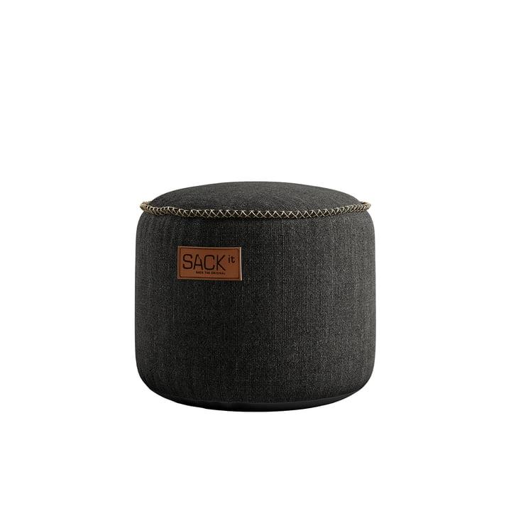 The RETRO it Cobana Junior Drum Outdoor Pouf by SACK it, grey