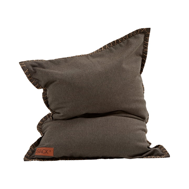 The SQUARE it Junior Cobana Outdoor Beanbag from SACK it, brown